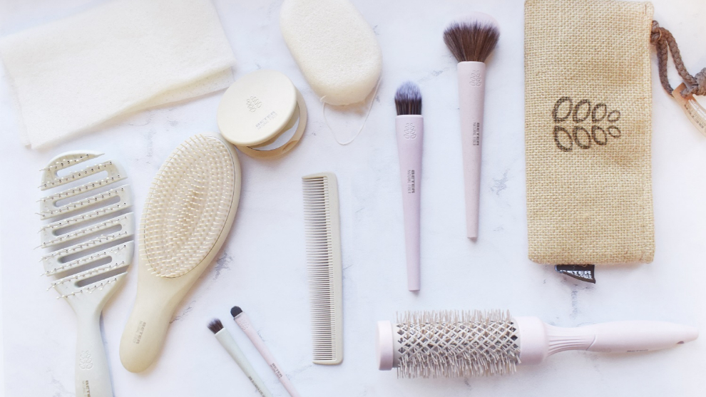 Natural Fiber de Beter es una gama de pinceles de maquillaje, peines y...