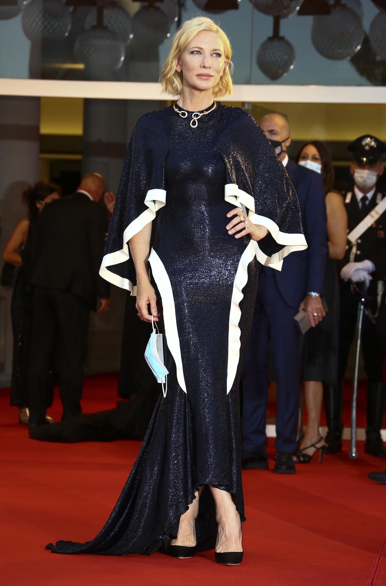 Cate Blanchett en el Festival de Venecia.