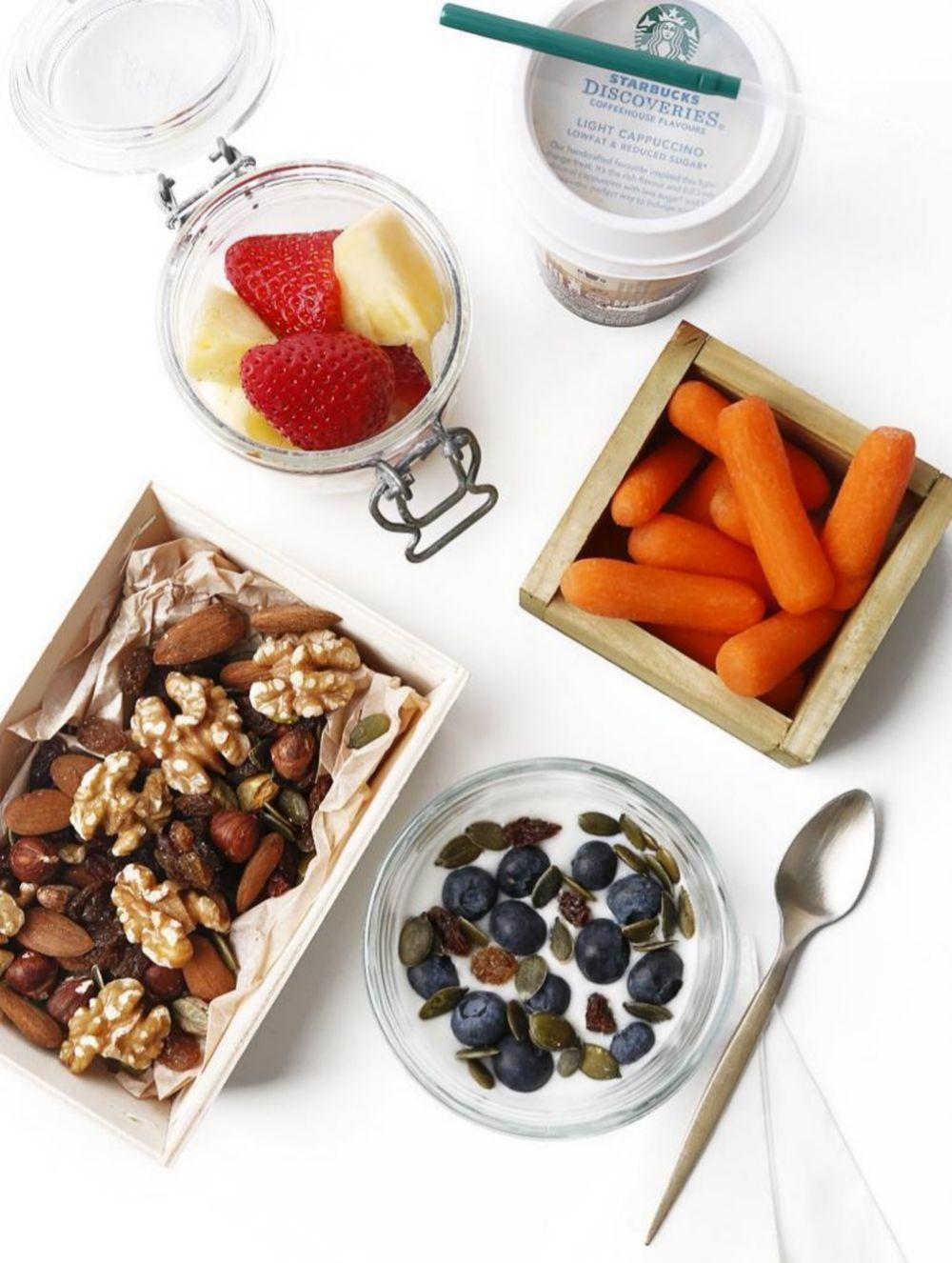 Frutas, cereales, lácteos... admiten un montón de combinaciones saludables y deliciosas.