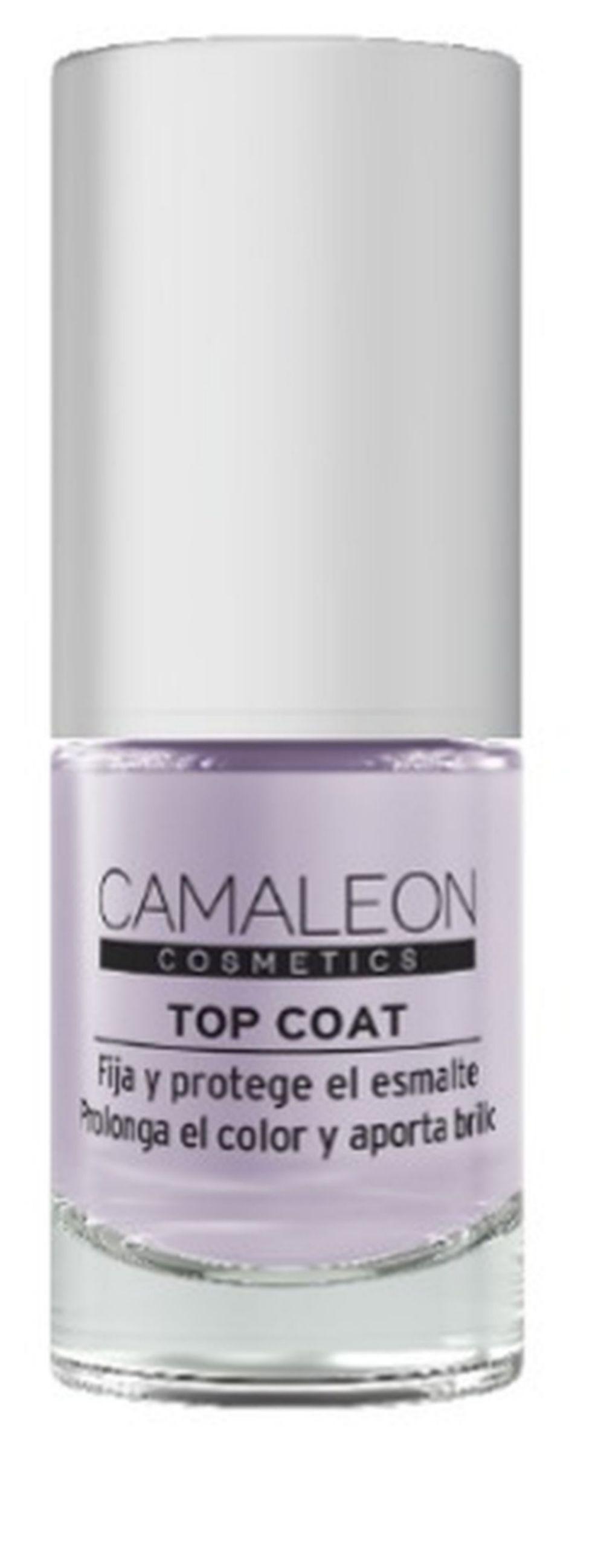 Top Coat, Camaleon (4,95 euros, en farmacias, parafarmacias, y camaleoncosmetics.com)