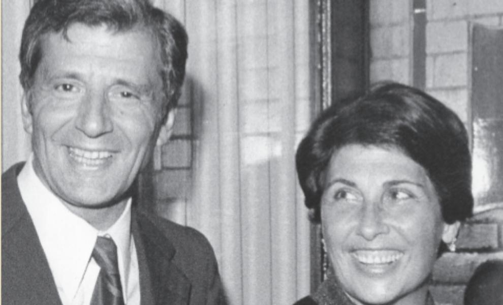 El escritor José Luis Olaizola y su mujer, Marisa