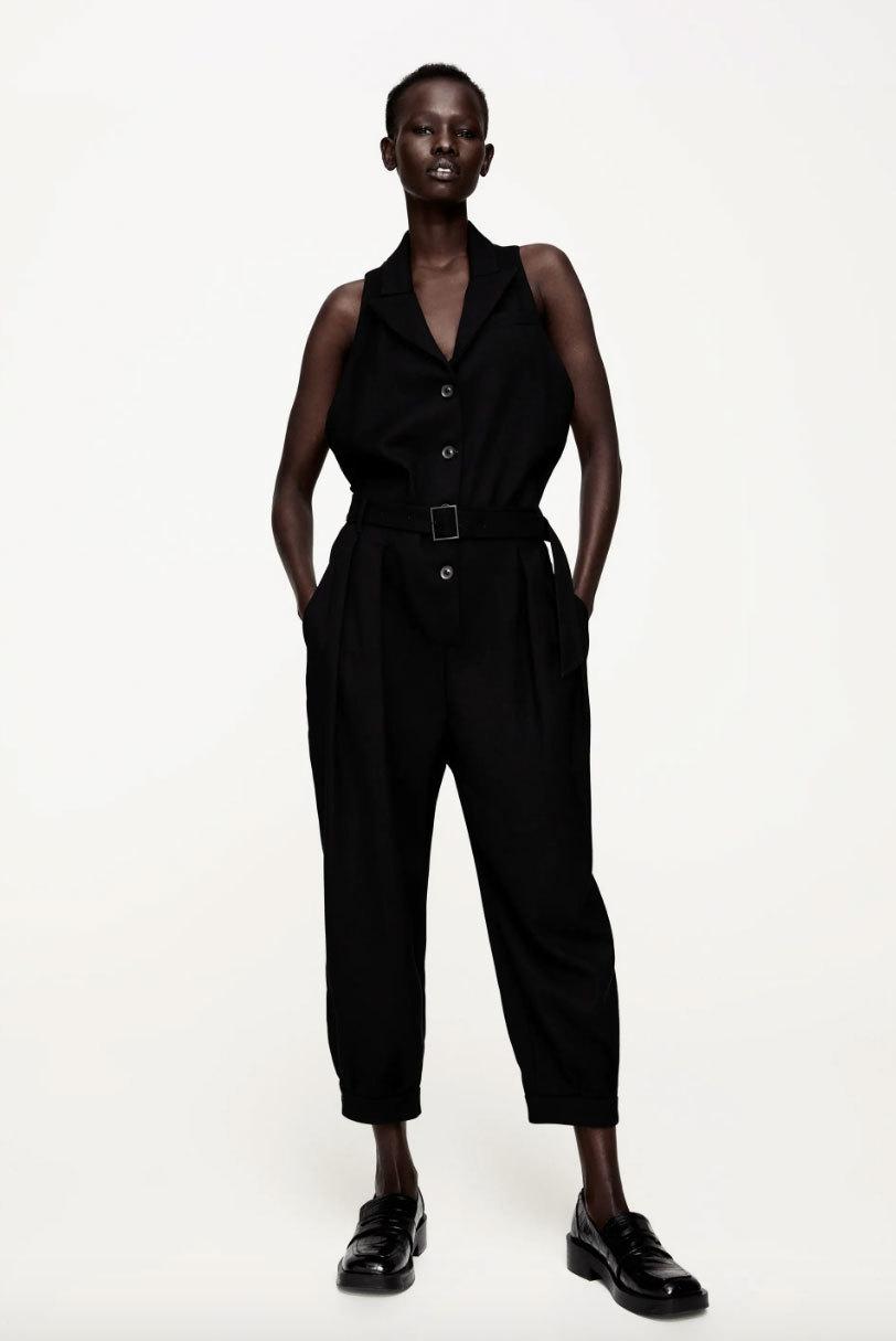 Mono negro de Zara.