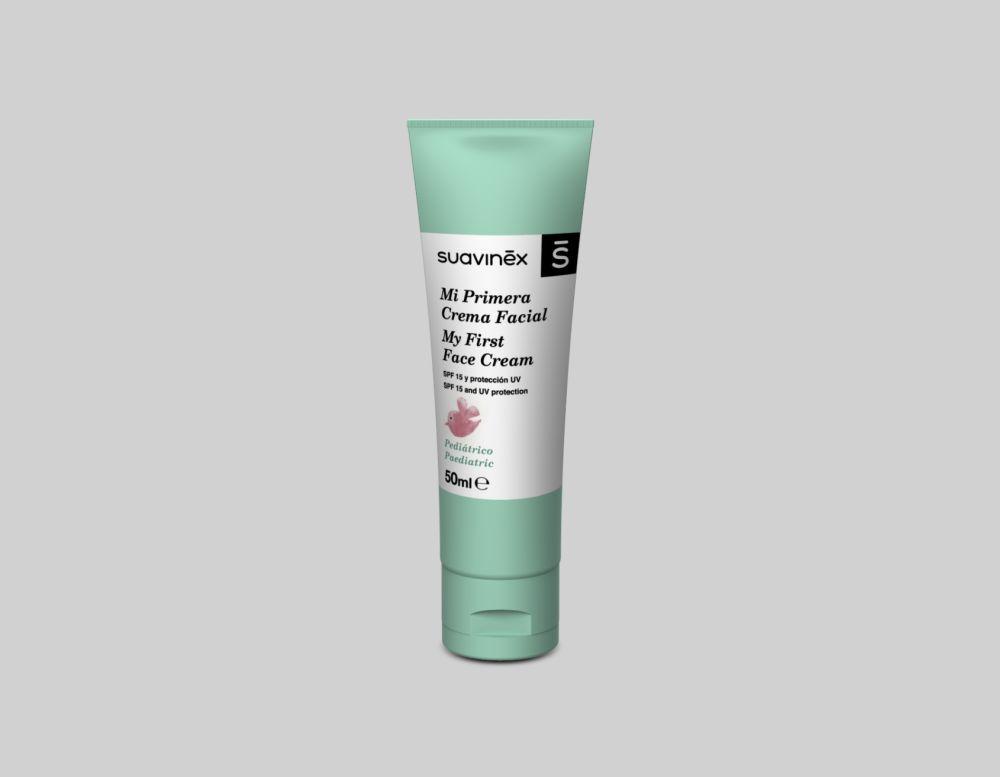 La crema facial infantil de Suavinex nutre en profundidad la piel del...