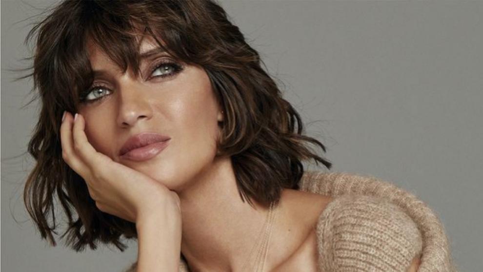 Sara Carbonero en la promoción de su última colección para Agatha...