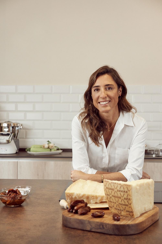 Inés, cocinera de Hoy Comemos Sano, ha elegido el queso Grana Padano...
