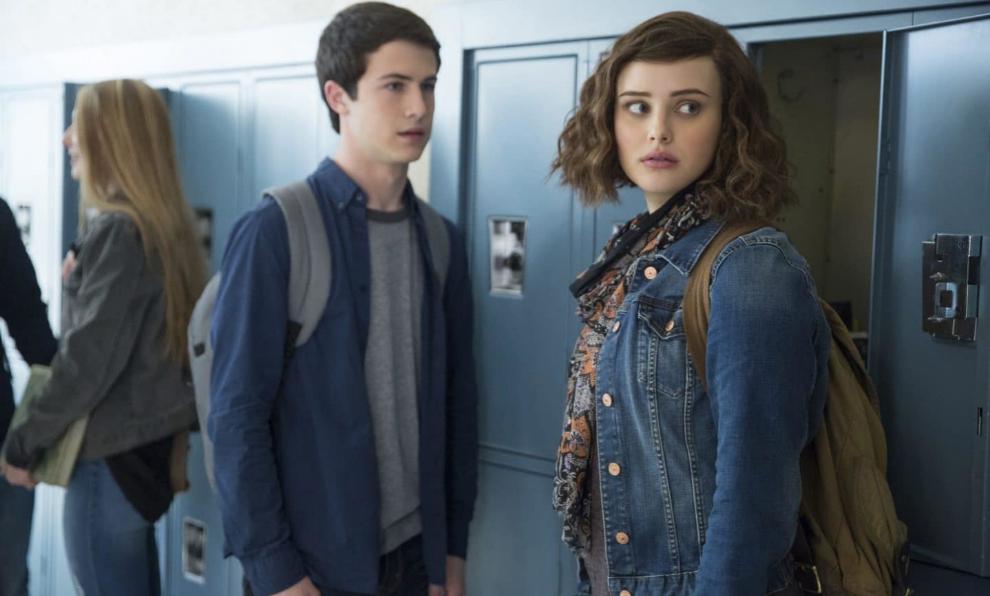 """Clay Jensen (Dylan Minnette) y Hannah Baker (Katherine Langford) son los protagonistas de """"Por 13 razones""""."""