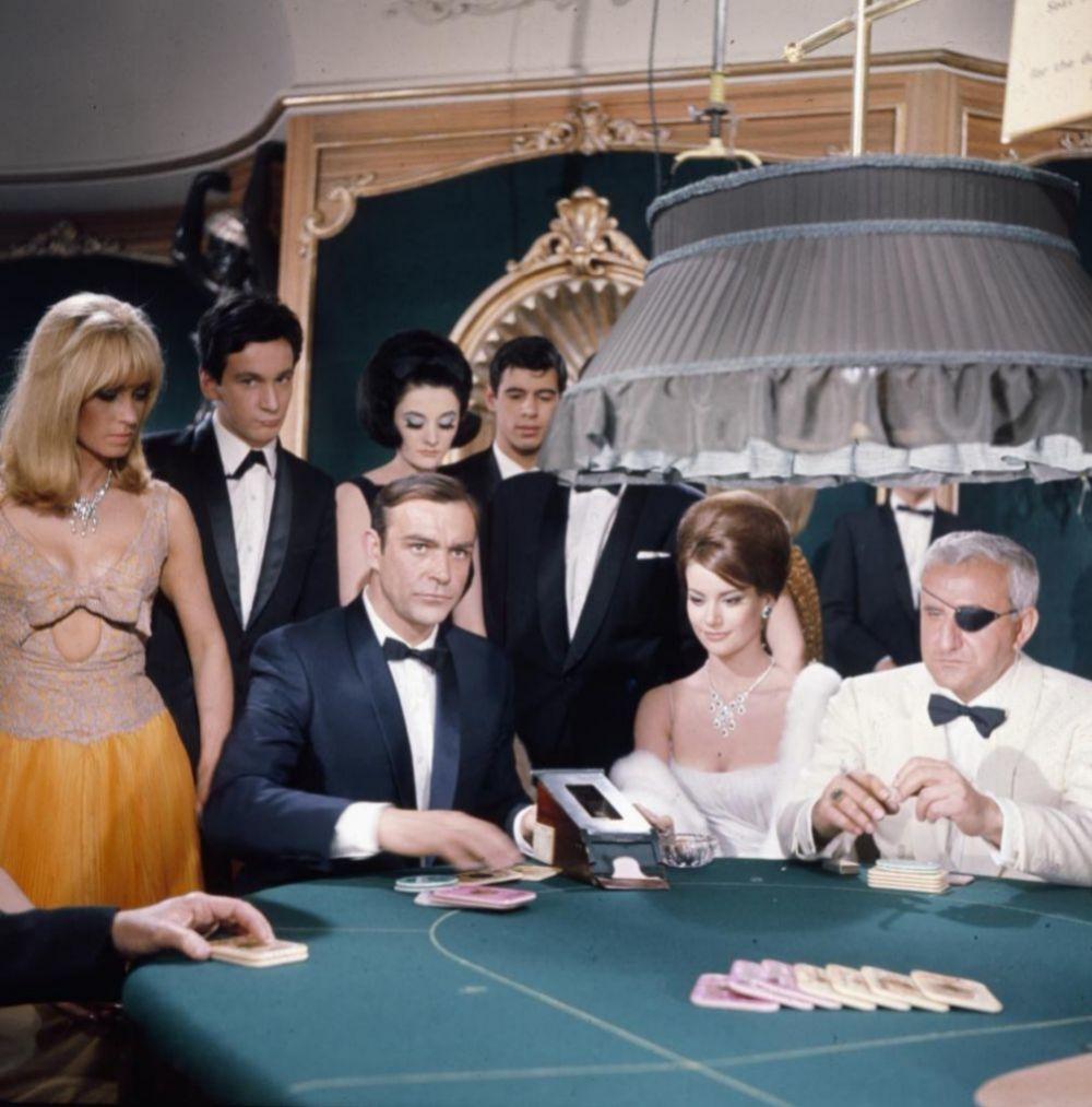 El mítico 007: Sean Connery en una escena de Operación Trueno.