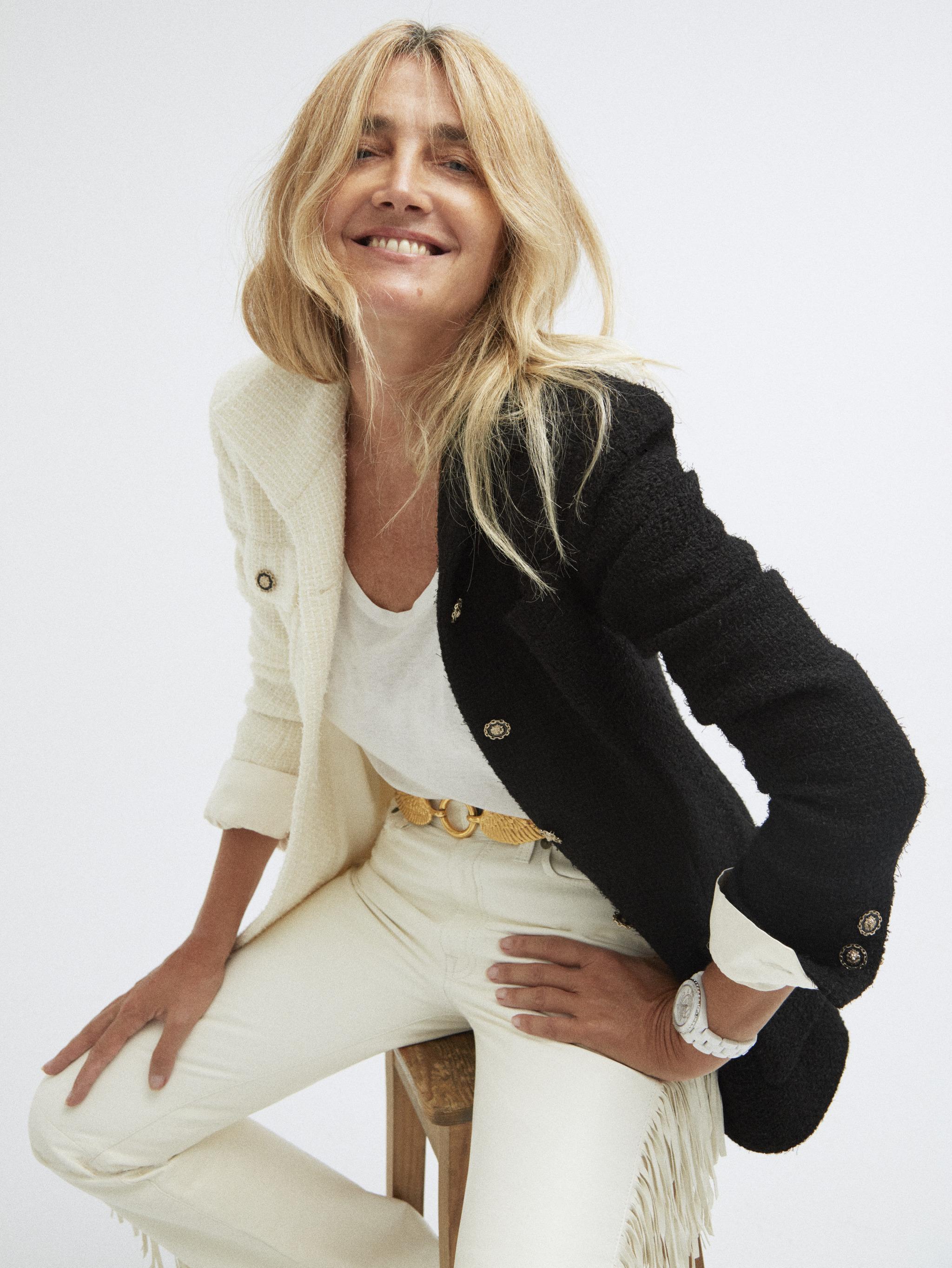 Julia Martínez, jefa de estilistas de TELVA.