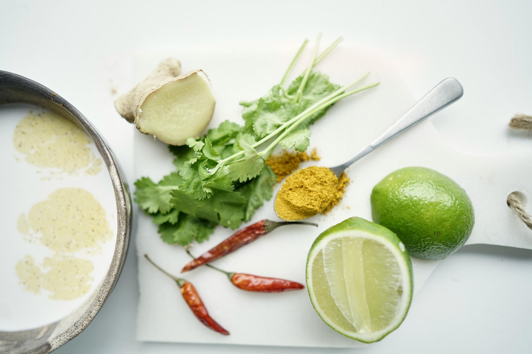 Langostinos al curry con cuscús