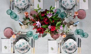 Mesa de Navidad de Sally Hambleton