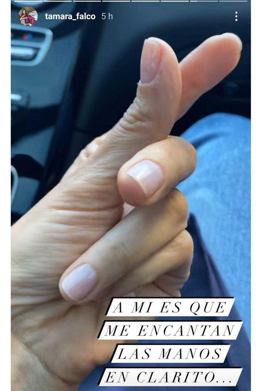 La manicura nude de Tamara Falcó es otra de sus apuestas seguras para unas uñas espectaculares este otoño.