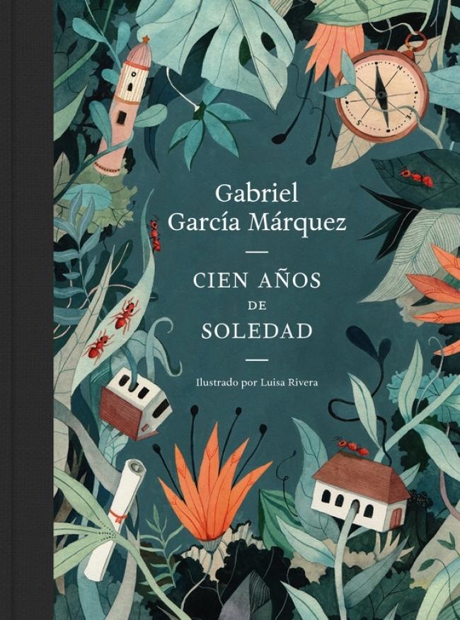 Edición ilustrada de Cien años de soledad con motivo del 50...