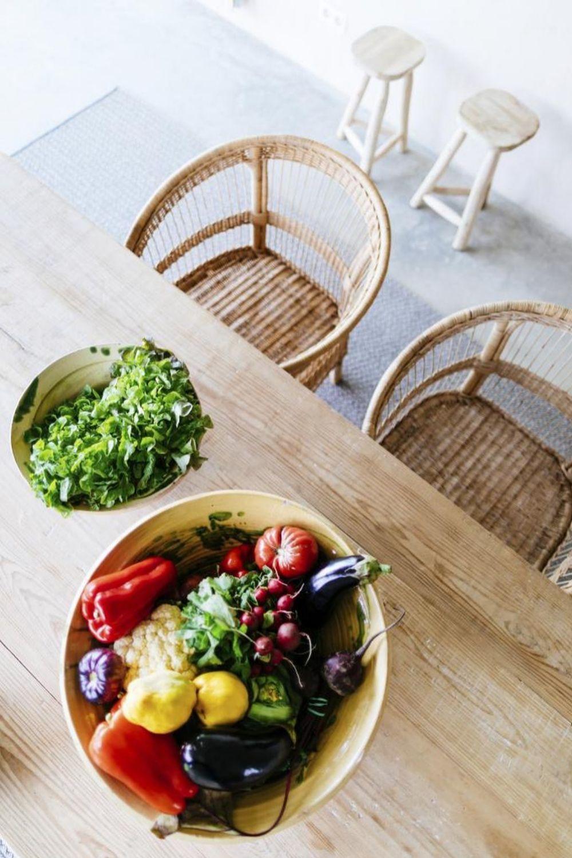 Objetivo: que tus platos de verduras sean muy colorido para que contengan muchas vitaminas y minerales.
