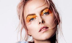 Maquillajes y lacas de uñas con toque glitter