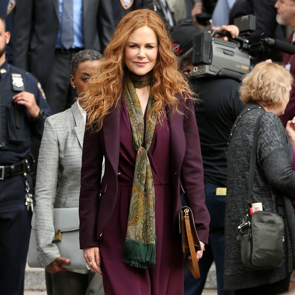"""Nicole Kidman ha elevado su larga cabellera pelirroja a la categoría de icono en la serie """"The Undoing"""" de HBO como ya lo hiciera en """"Días de Trueno""""."""