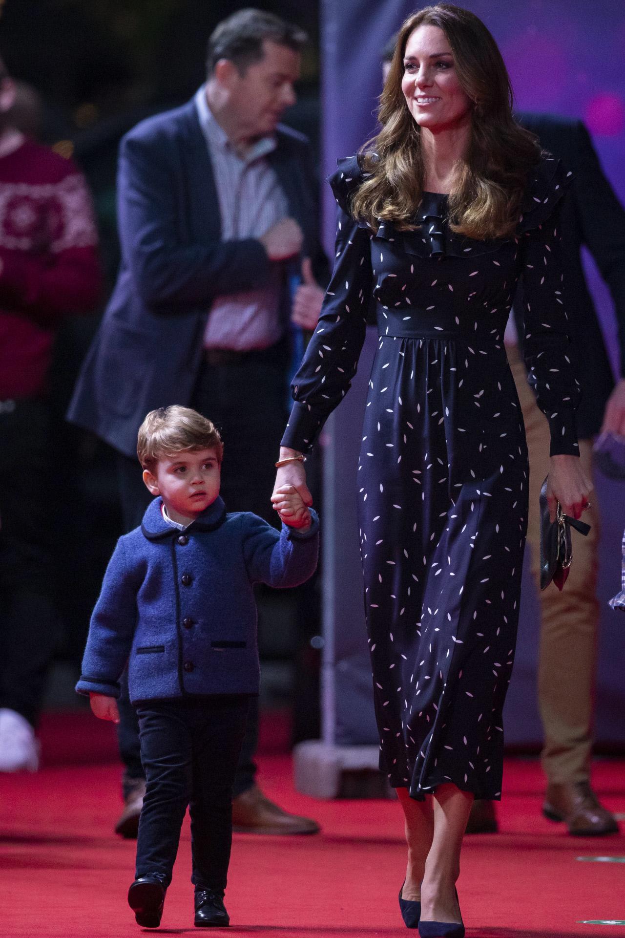 Kate Middelton y el príncipe Louis.