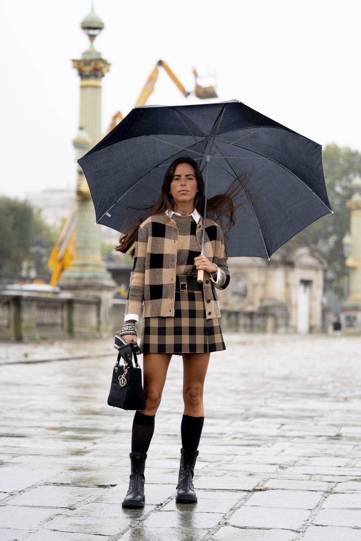 Nina Urgell con look de Dior.