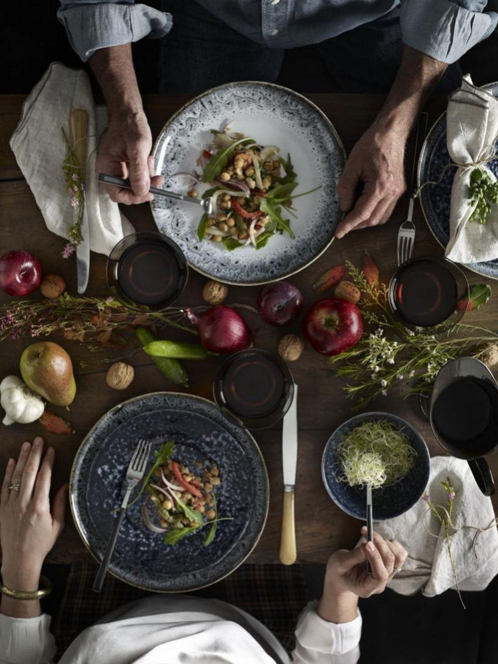 Planifica tus menús sólo con alimentos muy saludables.