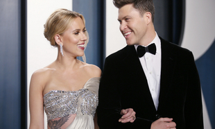 La actriz se casó durante la pandemia con Colin Kelly Jost,...