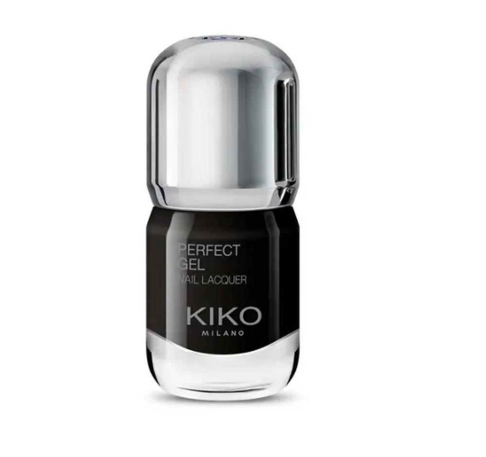 Perfect Gel Nail Lacquer en color negro de Kiko Milano (5,99 euros).