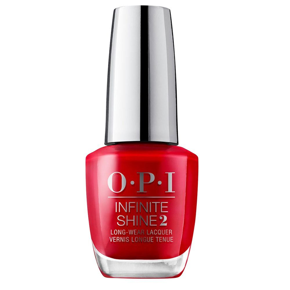 Laca de uñas roja Big Apple Red de OPI (22,50 euros).