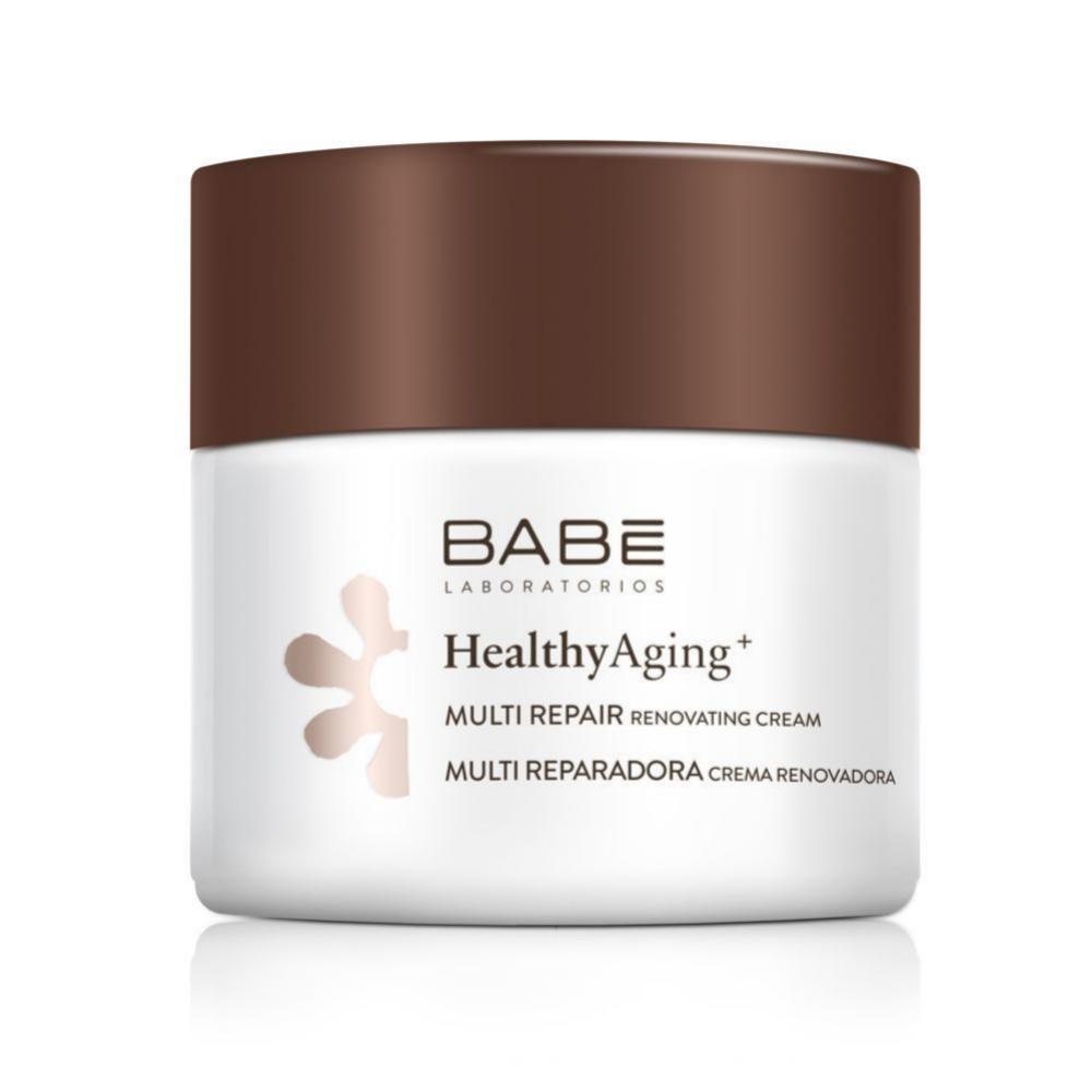 Crema renovadora de noche de BABÉ (29 euros) con bakuchiol, retinol, caléndula y complejo nutritivo para regenerar y aportar un extra de luminosidad a tu piel mientras duermes.