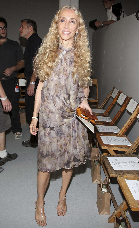 Franca Sozzani fue editora de Vogue Italia.