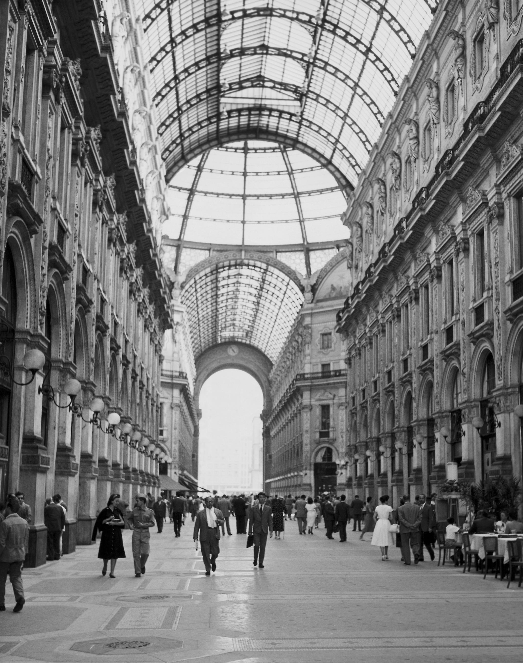 Galleria Vittorio Emanuele, Milan.