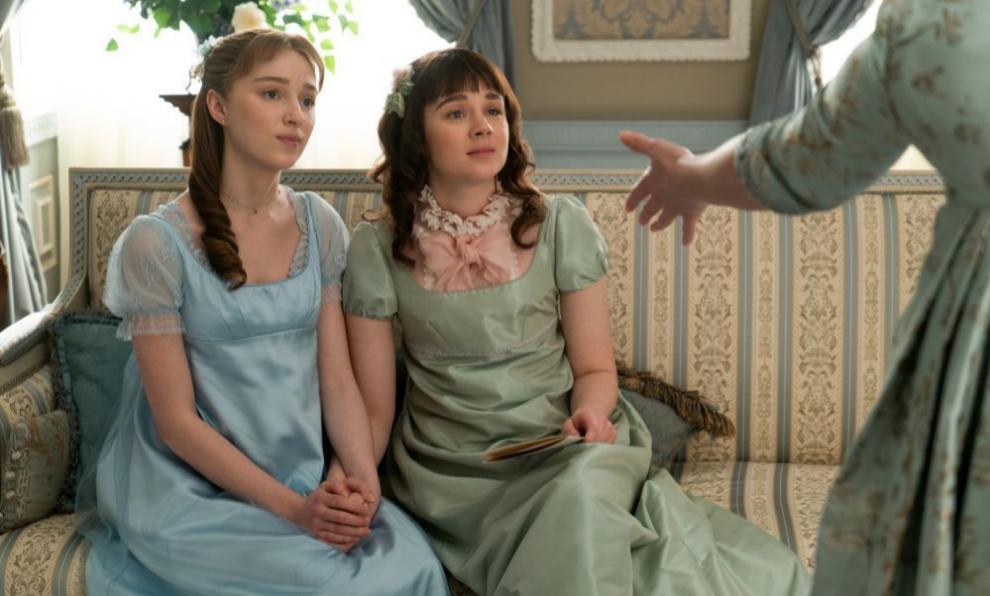 """Phoebe Dynevor interpreta a Daphne Bridgerton, la protagonista de """"Los..."""