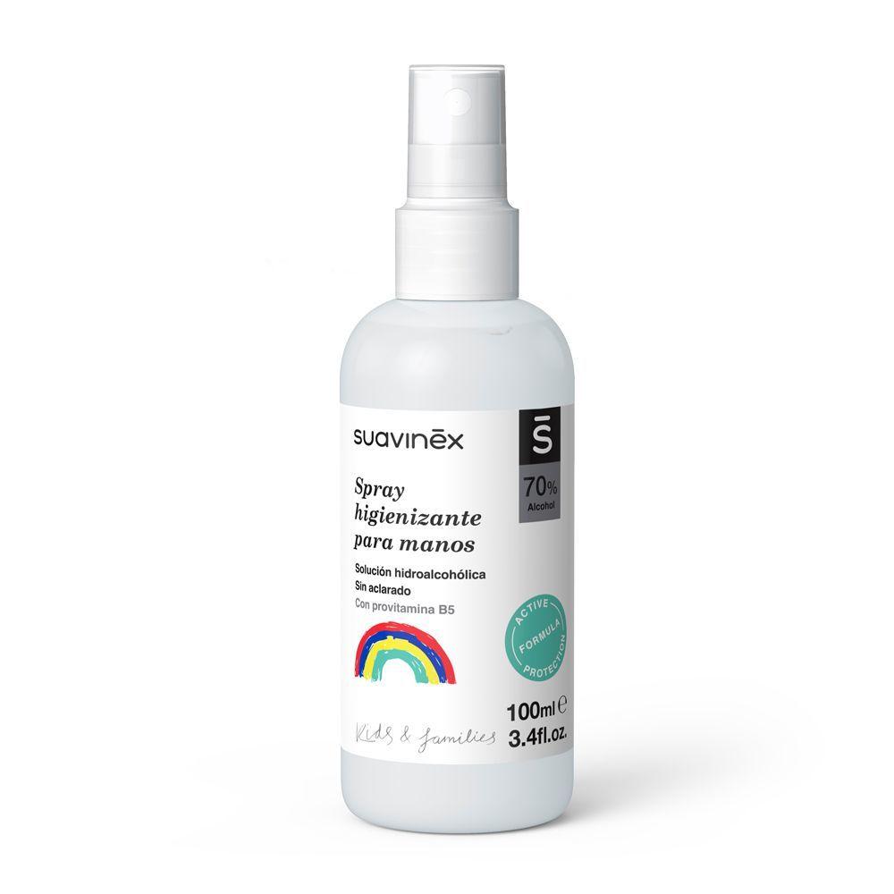 Spray higienizante de manos de Suavinex.