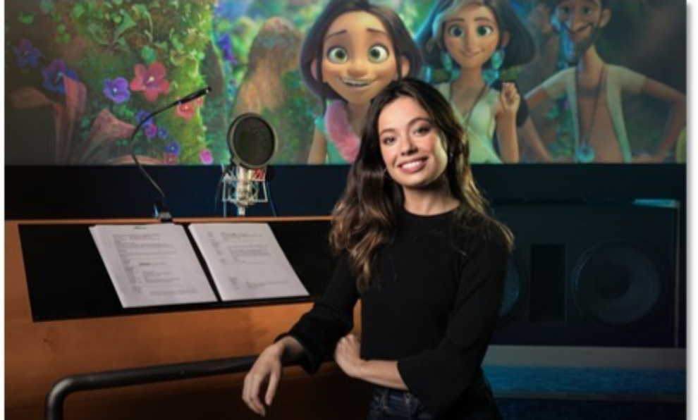 Anna Castillo en el doblaje de Los Croods: Una nueva era