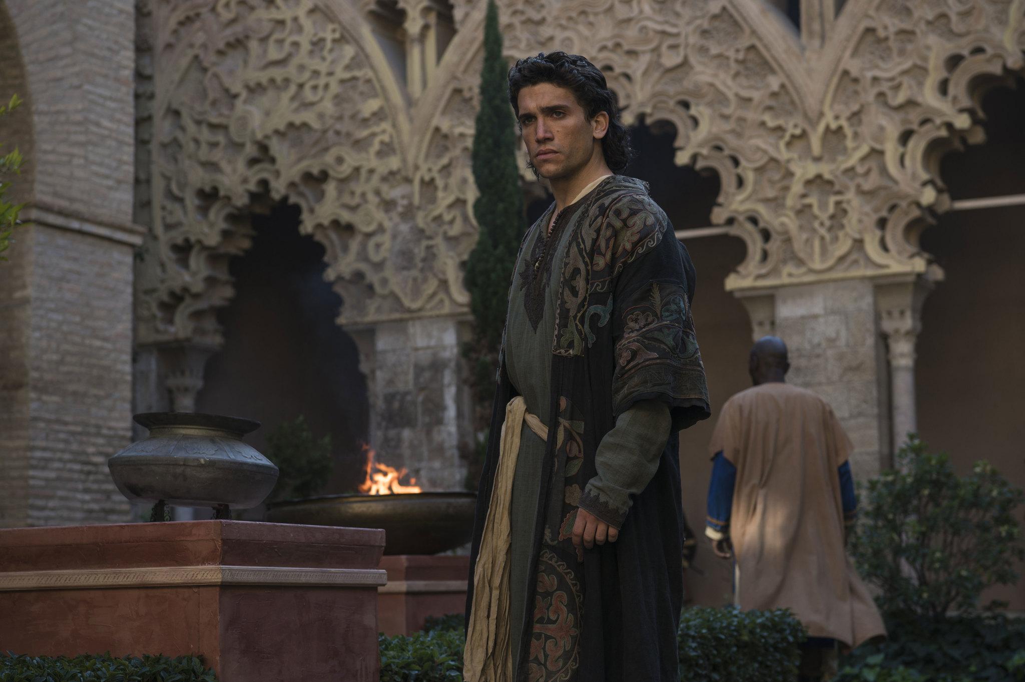 Jaime Lorente en El Cid