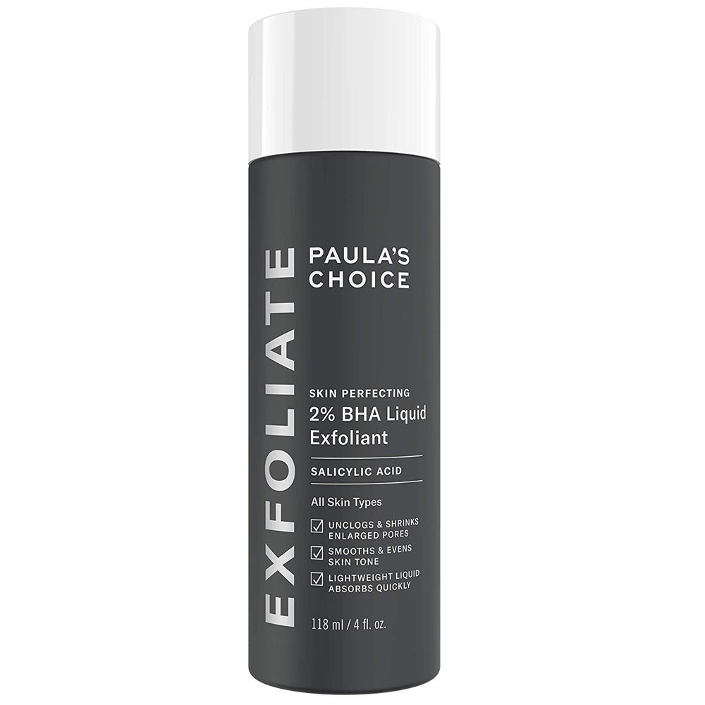 2% BHA Liquid Exfoliant Salicylic Acid de Paula's Choice.