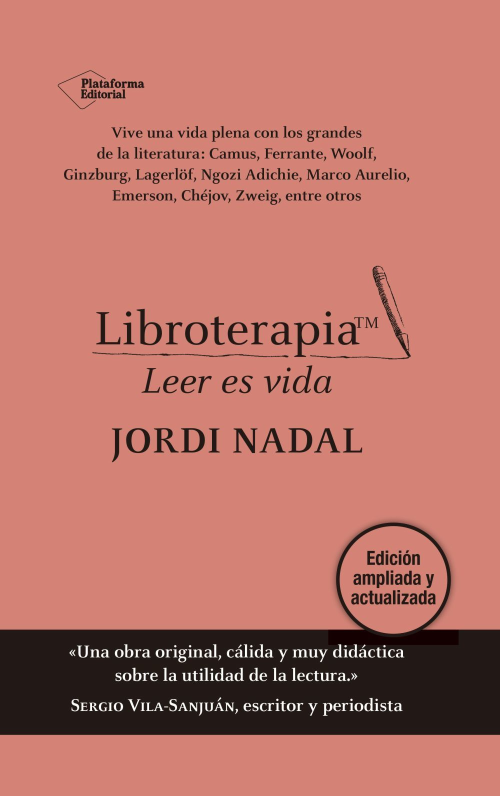 Libroterapia (Plataforma Editorial), de Jordi Nadal.
