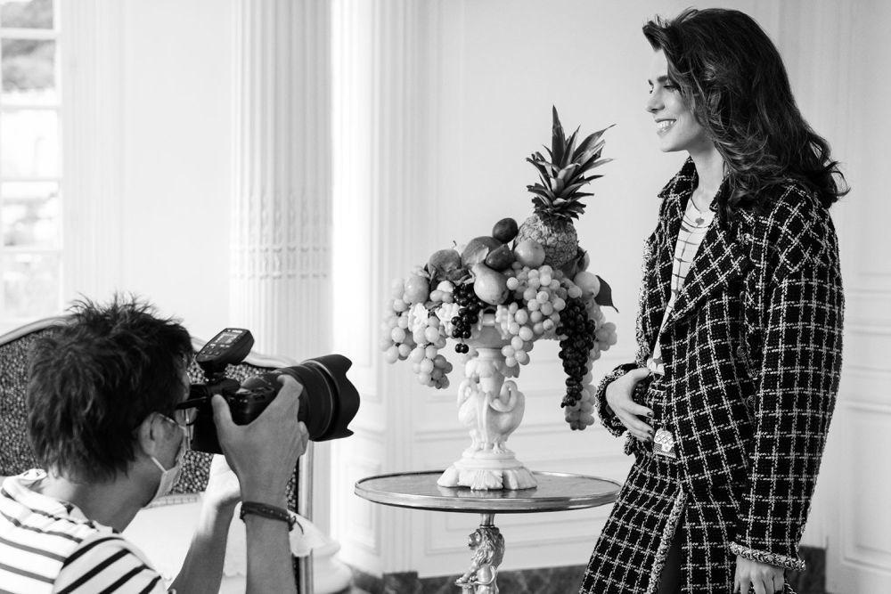 Carlota Casiraghi como nueva embajadora de Chanel.