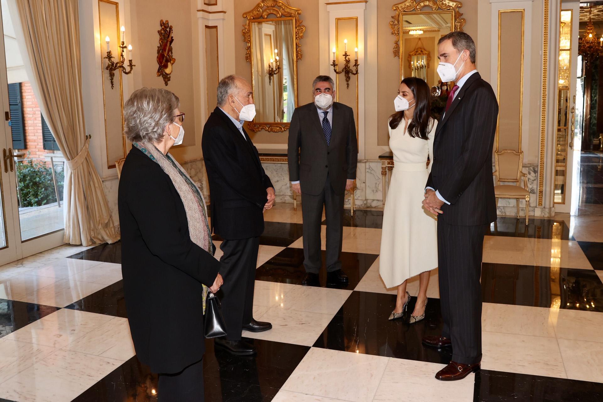Los Reyes, Felipe y Letizia, entregan en Barcelona el Premio...