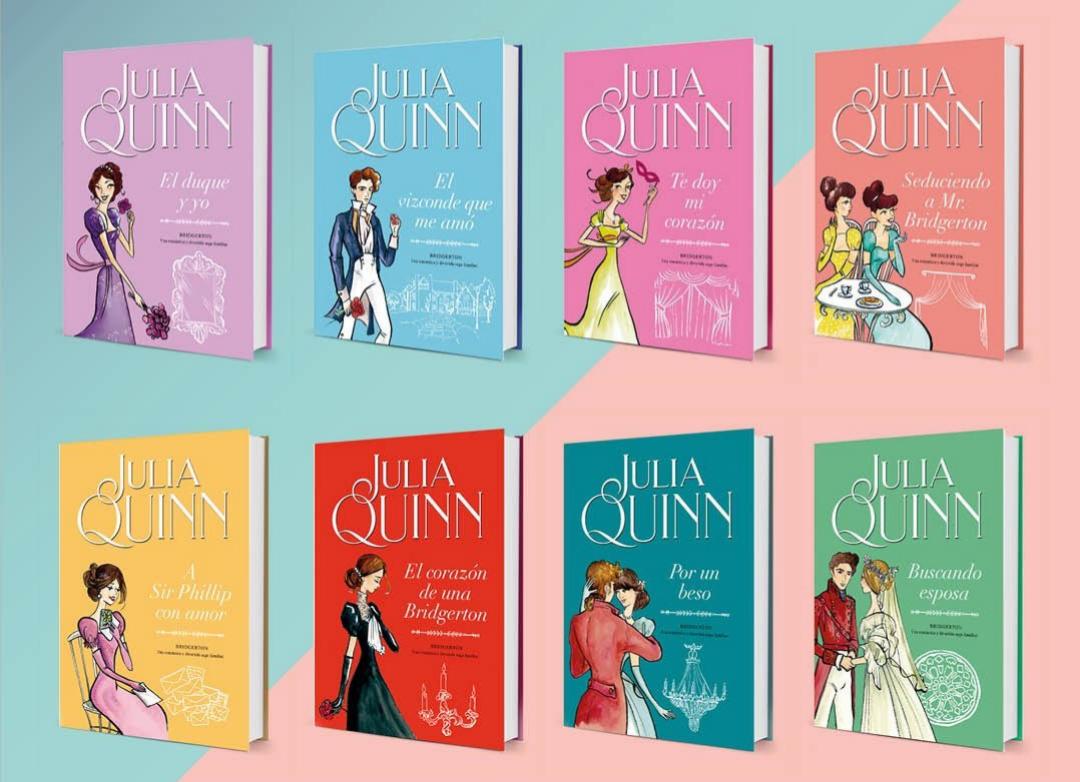 La serie está basada en una saga de libros escritos por Julia Quinn.