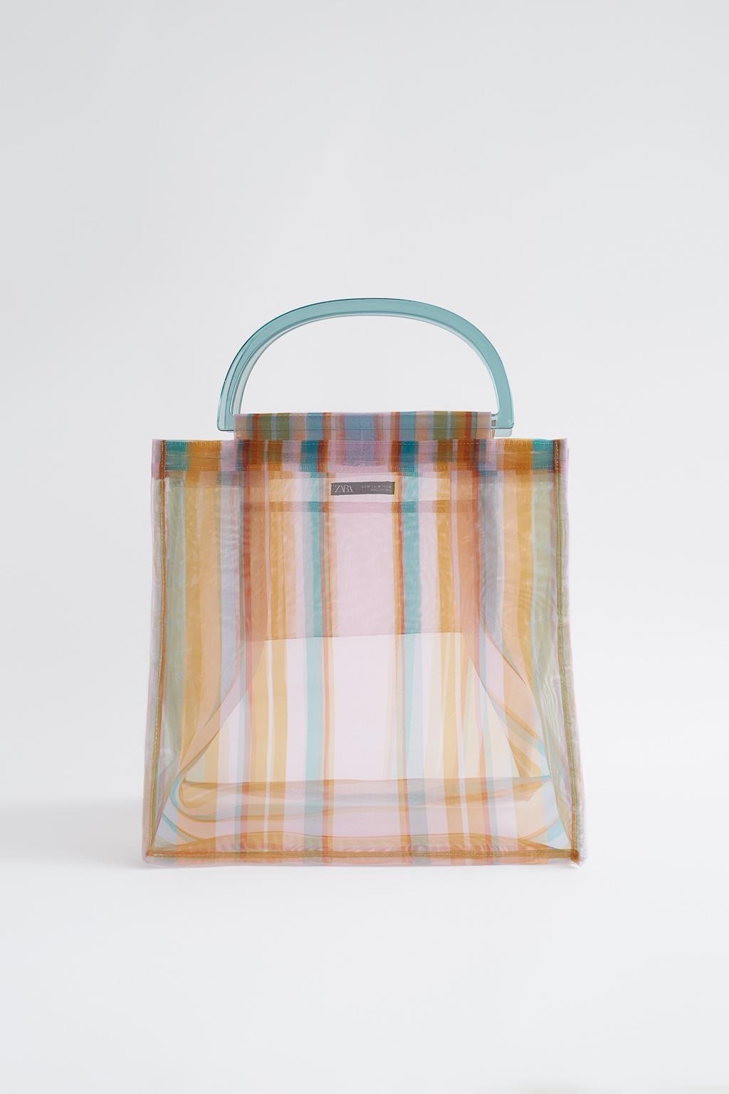 Bolso shopper de Zara (25,95 euros).