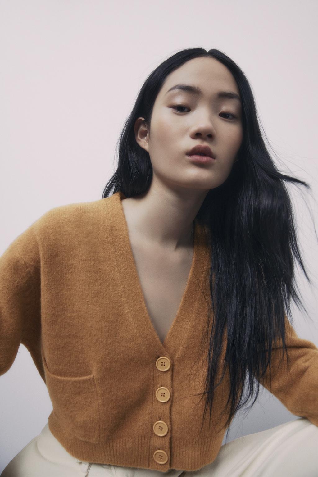 Cardigan de lana de Zara,
