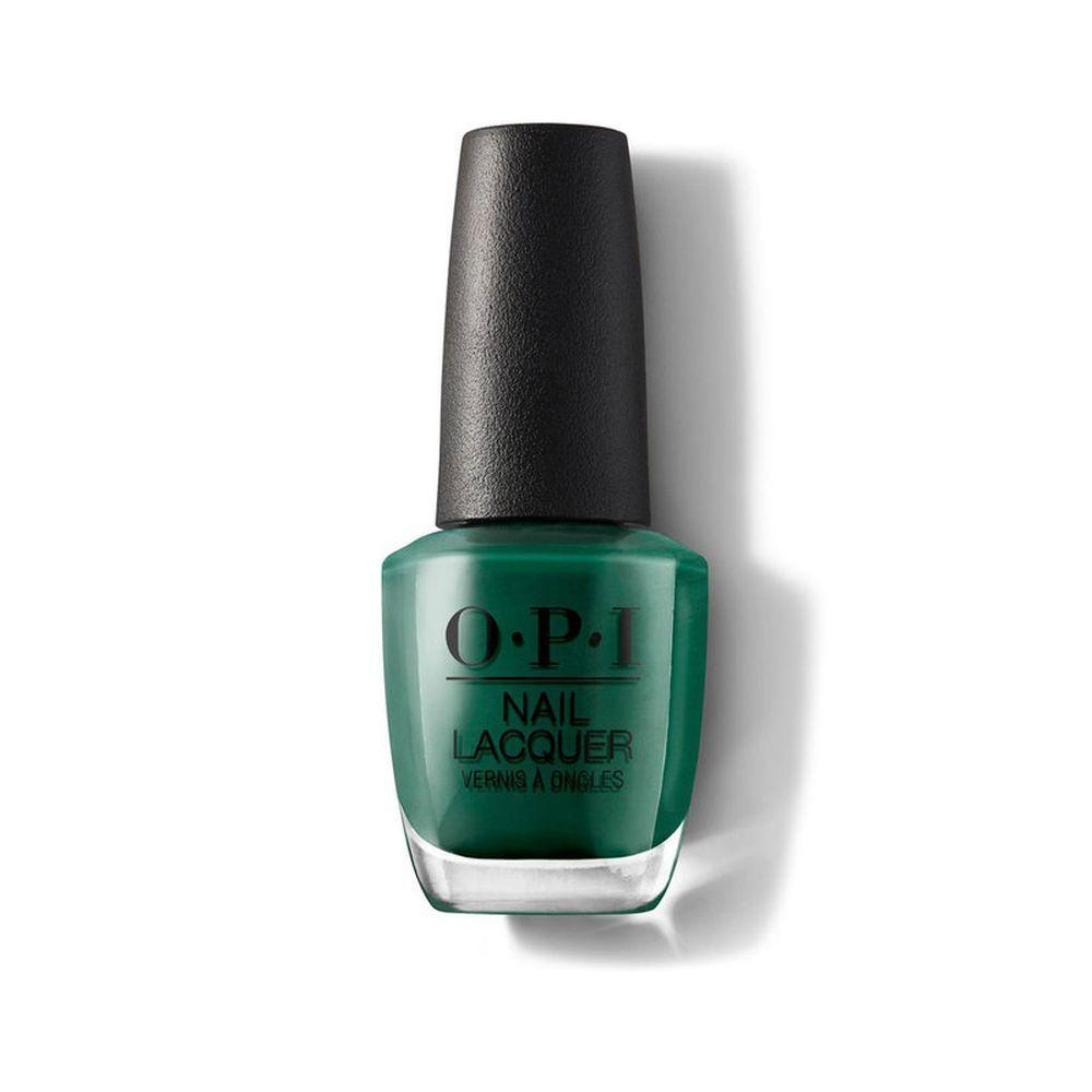 Esmalte de uñas Stay Off the Lawn!! verde oscuro de OPI (16,50 euros).