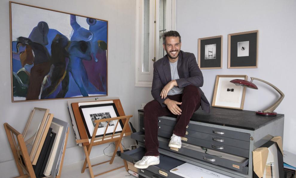 Alejandro de Villota, director de la Galería Memoria