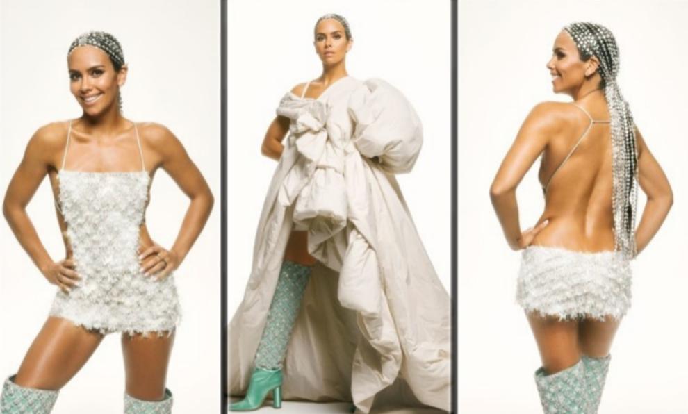Cristina Pedroche con el diseño de Pedro del Hierro con el que ha...