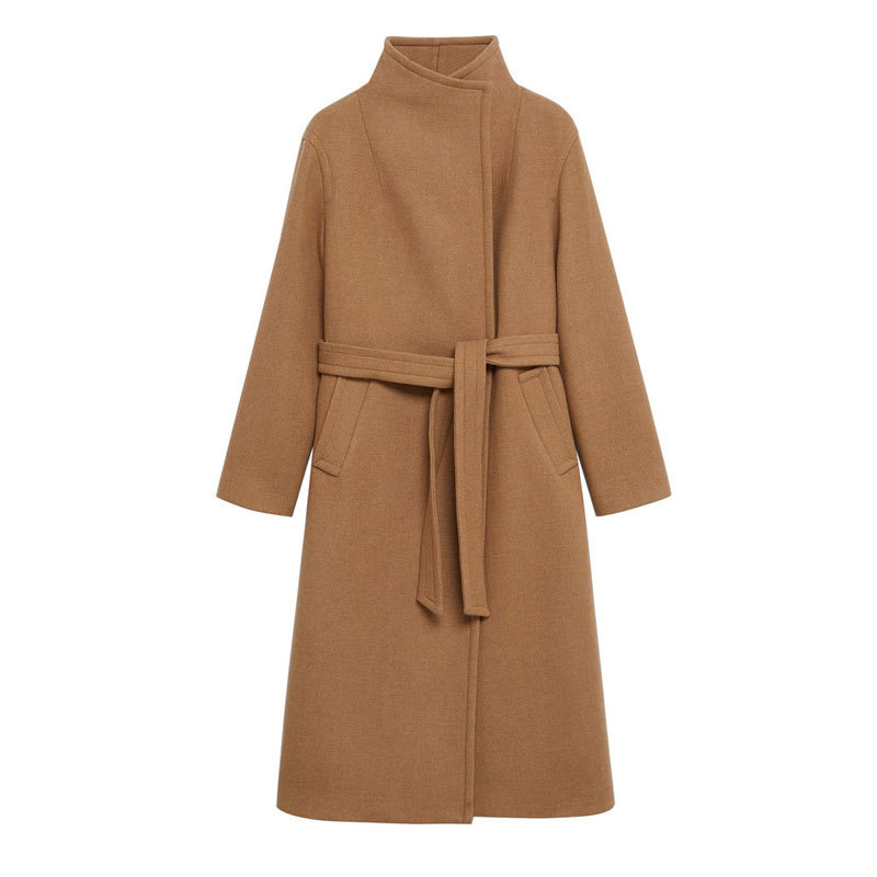 Abrigo lana cruzado de Mango (Antes, 119,99 euros. Ahora: 79,99 euros)