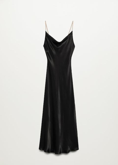 Slip dress de Mango.