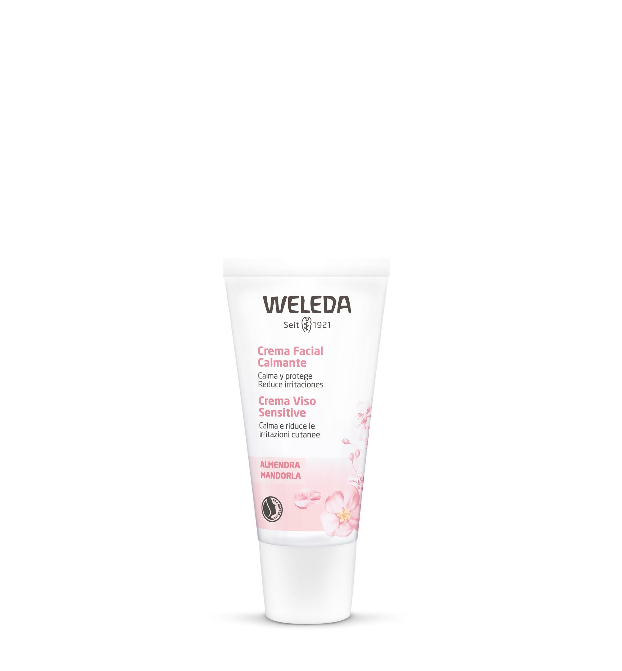 Crema Facial Calmante de Weleda, que fortalece, calma e hidrata la...