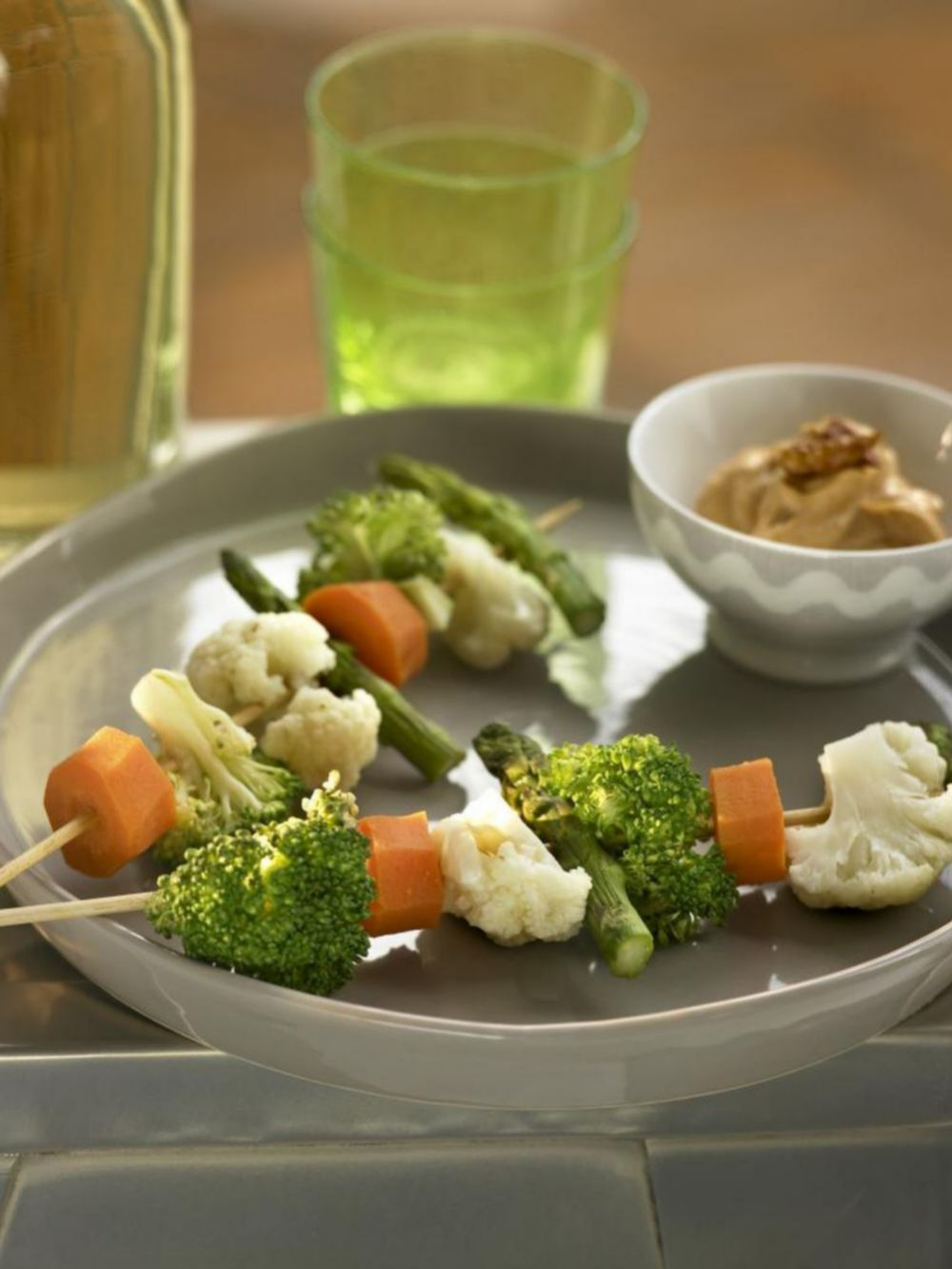 Derrocha imaginación para darle un aire nuevo a las verduras y no caer en el aburrimiento.