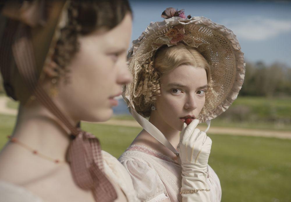 Anya Taylor-Joy es la heroína de Jane Austen, <em>Emma</em>.