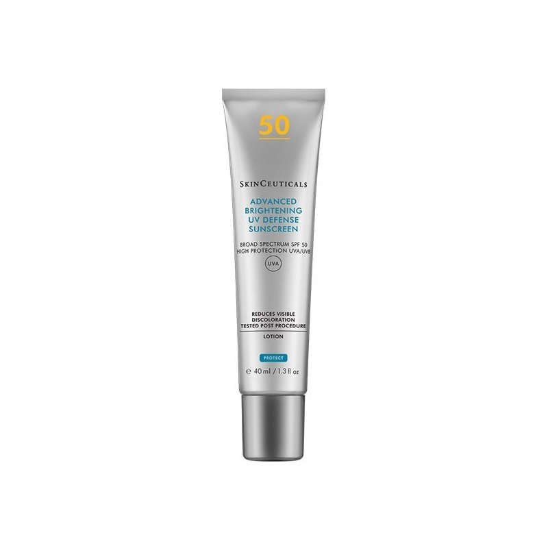 SkinCeuticals Advanced Brightening UV Defense SPF50. 45 euros.