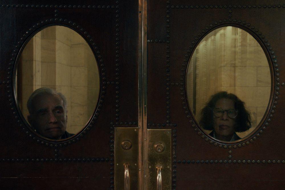 El director de cine Martin Scorsese junto a Fran Lebowitz. (Netflix)