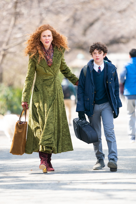 Nicole Kidman en una de las escenas de la miniserie <em>The Undoing</em>.